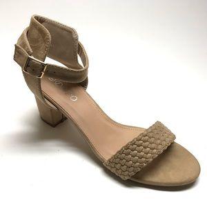"New Latigo /""Kala/"" Pick Sz 6 8.5 10 Anthropologie Block Heels Burgundy Boot 8"
